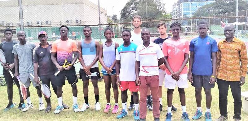 Le tournoi Itf d'Abidjan attirent chaque année, depuis 2017, plusieurs jeunes tennismen à Abidjan. (DR)