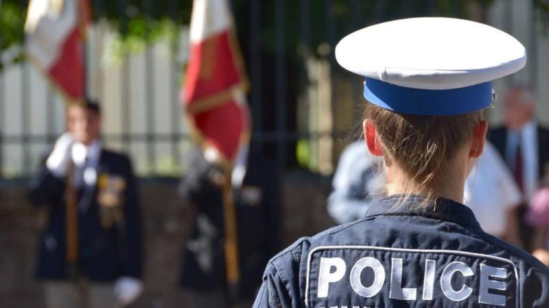Une policière en France (image d'illustration)