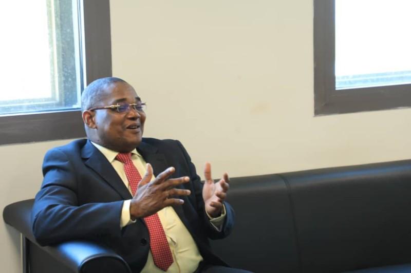 Serey Doh Celestin, secrétaire d'Etat auprès du ministre des Transports chargé des Affaires maritimes. (DR)