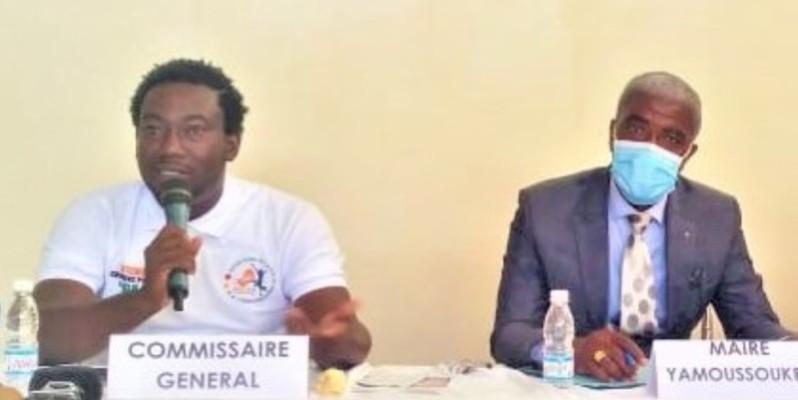 Marcel Avit (à gauche), le commissaire général et son staff veulent une fête qui aura lieu chaque année à Yamoussoukro. (DR)
