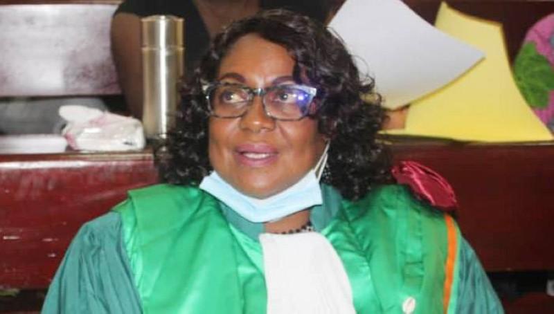 Pr Abiba Tidou Sanogo, présidente de l'Université Jean Lorougnon Guédé de Daloa. (DR)
