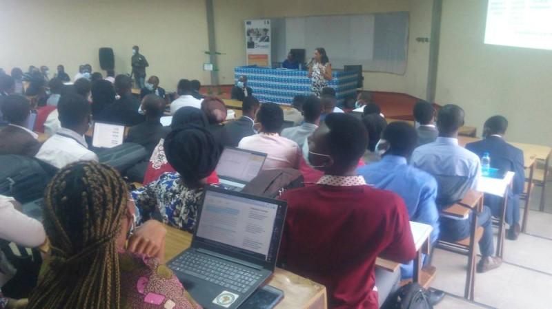 La séance de formation a répondu aux attentes des étudiants. (DR)