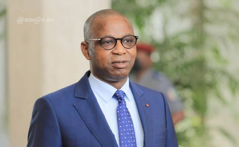 Adama Kamara, ministre de l'Emploi et de la Protection sociale. (Abidjan.net)