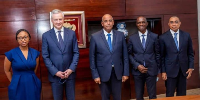 LA FRANCE APPORTE UN APPUI FINANCIER AUX ENTREPRISES IVOIRIENNES IMPACTEES PAR LA COVID-19 (DR)