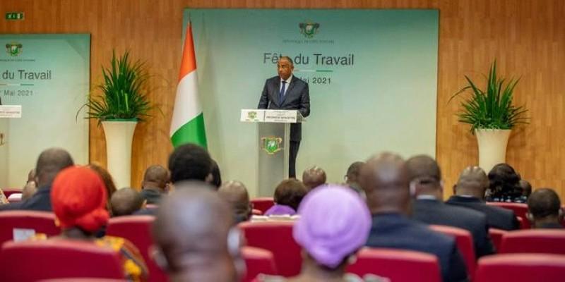 Le Premier ministre Patrick Achi va relancer le dialogue social. (DR)
