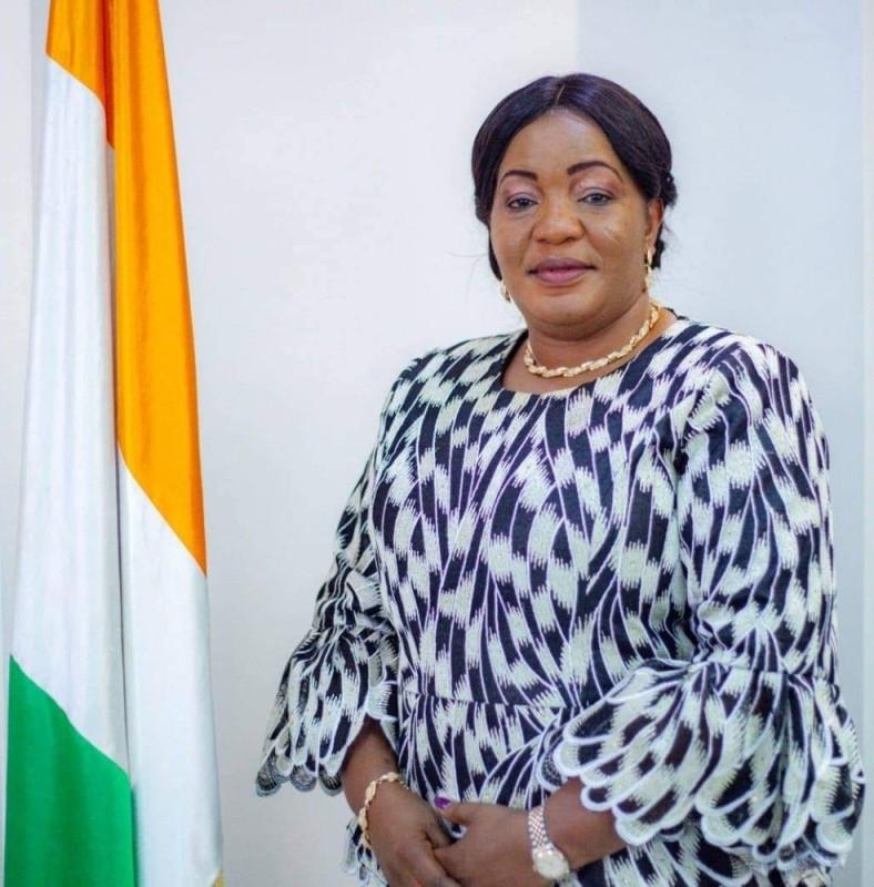 Harlette Badou N'GUESSAN MINISTRE DE LA CULTURE (DR)