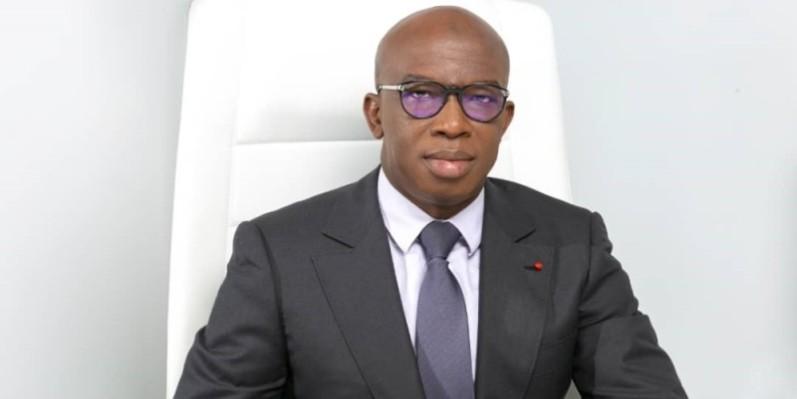 Lanciné Diaby, directeur général du Fonds d'entretien routier (DR)