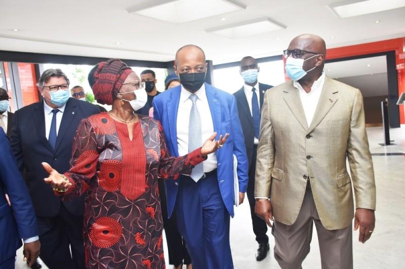 Le président Patrice Motsepe s'est entretenu hier avec les membres du Comité de normalisation et son conseiller spécial, l'Ivoirien Jacques Anouma.