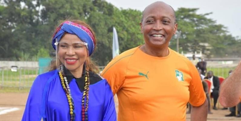 Le président Motsepe et son épouse tiennent à ce projet en faveur de la jeunesse africaine. (DR)