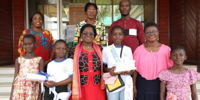 La photo de famille à l'issue de la rencontre. (Bosson Honoré)