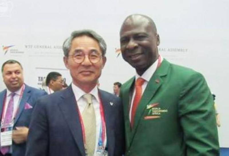 Le président Bamba Cheick, est, par ailleurs vice-président de la section Afrique de la World taekwondo. (DR)