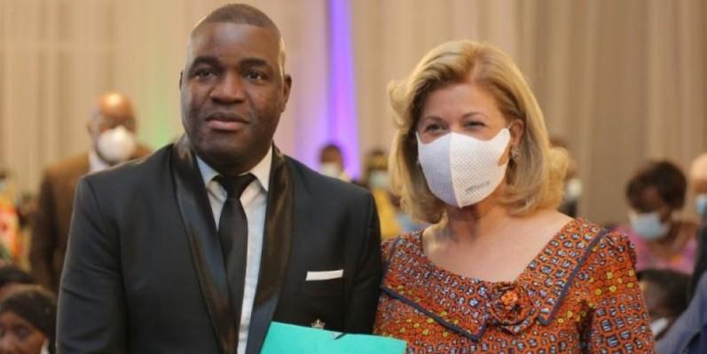 A travers Abou Nidal, la Première dame Dominique Ouattara a mis tous les artistes de Côte d'Ivoire en mission pour la lutte contre le travail des enfants (DR)