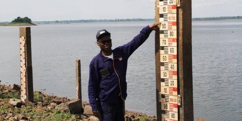 L'adjoint au directeur d'usine du barrage, Comoé Yao Gilbert. (Photo : Joséphine Kouadio)