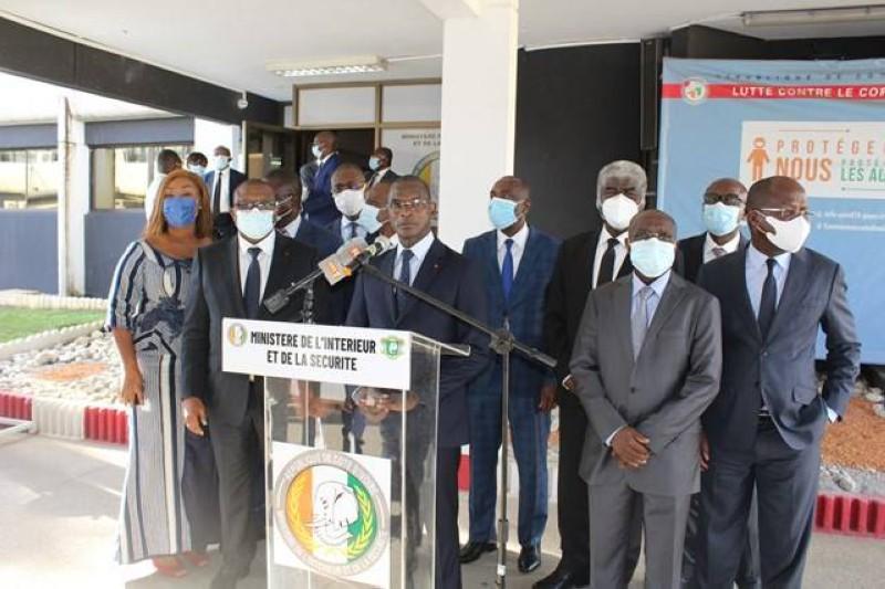 Le ministre de l'intérieur et de la sécuritéa, au nom de ses paires, rendu public les résolutions de la réunion interministérielle. (PH DR)