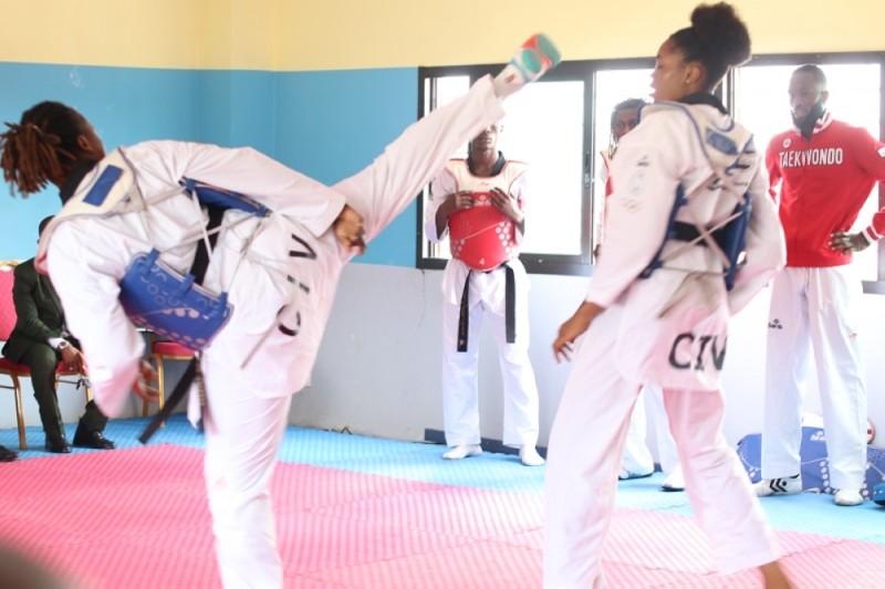 L'équipe ivoirienne pour Tokyo poursuivra sa préparation en altitude. (DR)