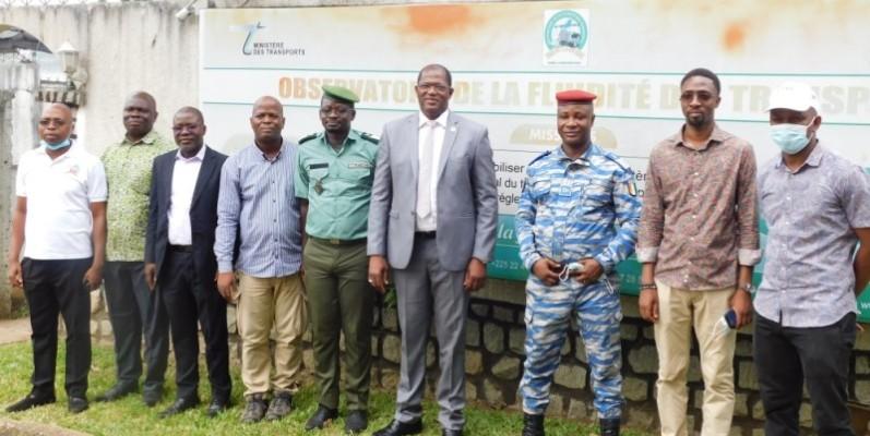 Des personnalités étaient présentes au lancement de la caravane. (DR)