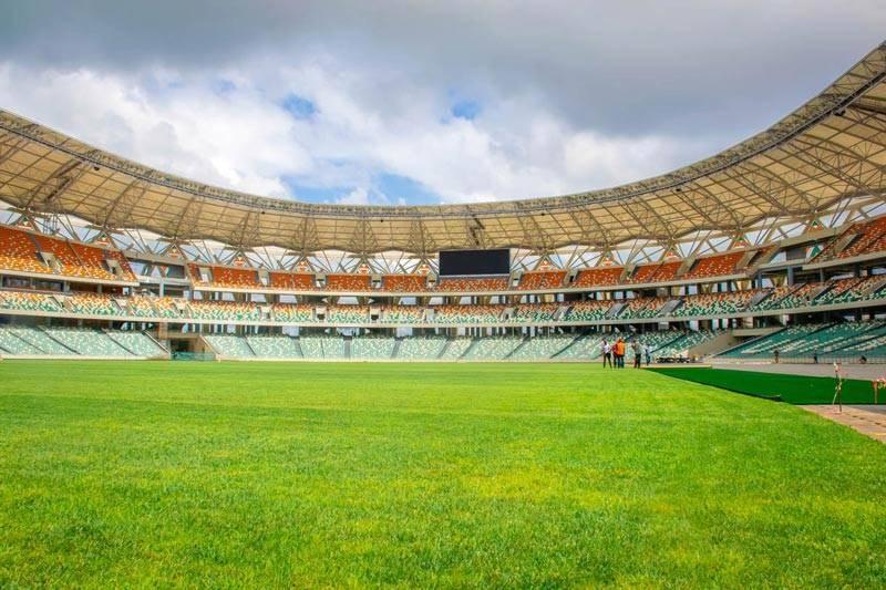 Le stade Alassane Ouattara d'Ebimpé2