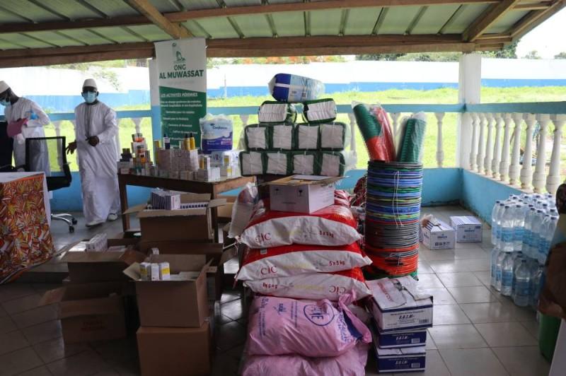 Le don fait par Almuwassat (Bavane)