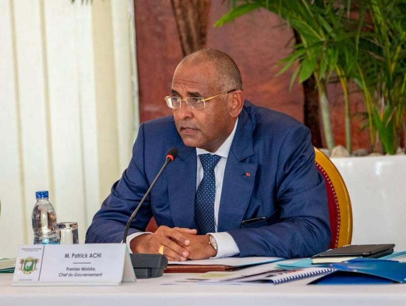 Le Premier ministre Patrick Achi