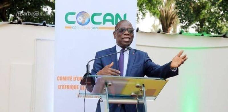 Lambert Kessé Feh, président du Cocan 2023. (DR)