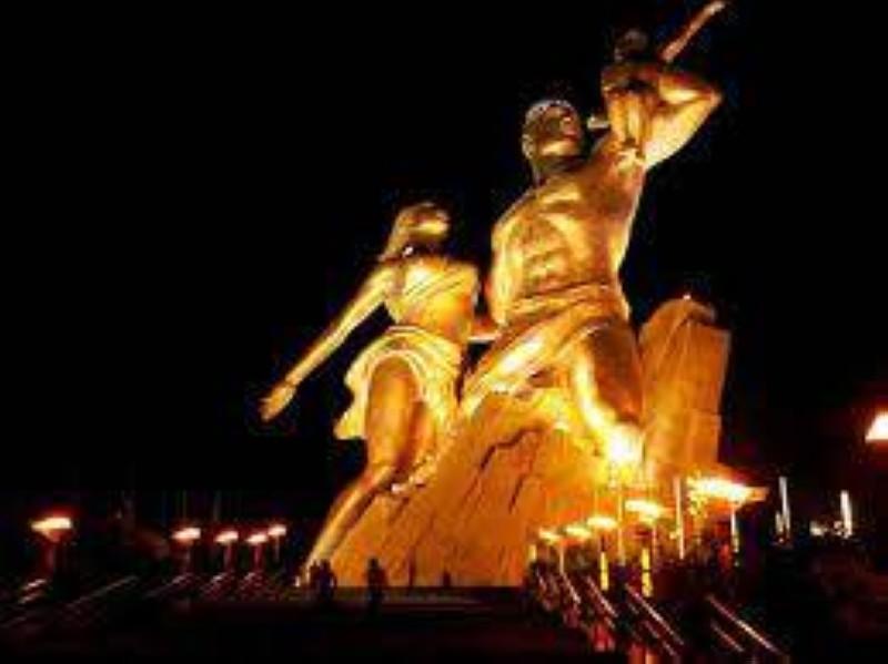 Monument de la renaissance africaine, à Dakar. (DR)