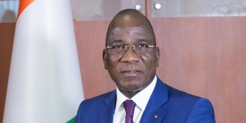 Assahoré Konan Jacques, président du Comité national de suivi du rapatriement des recettes d'exportation (Cnssre). (Photo : DR)