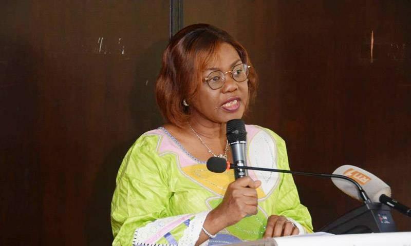 La ministre du Plan et du Développement, Nialé Kaba, a prononcé le discours d'ouverture de la rencontre. (DR)