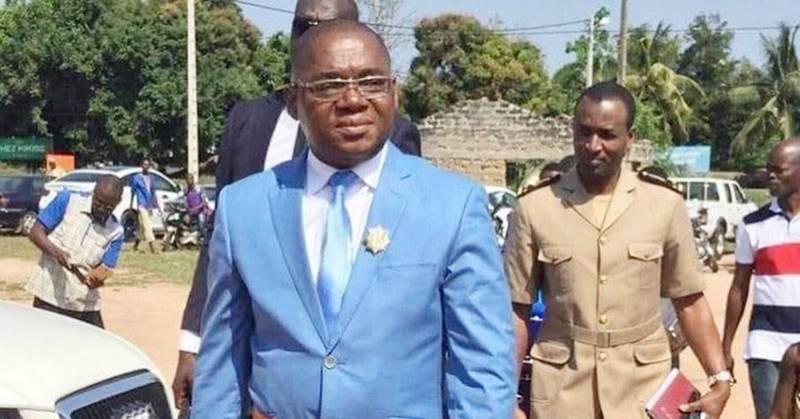 Le président du Conseil régional, Serey Doh Célestin. (DR)