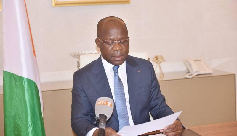 Pierre N'gou Dimba, Ministre de la Santé, de l'Hygiène Publique et de la Couverture Maladie Universelle. (Photo : MSHP-CMU)