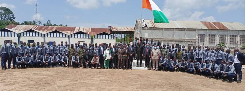 Mamadou Touré a promis l'appui de l'Aej aux jeunes sortants du Ccad de Bimbresso. (DR)
