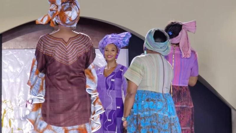 Pathé'O a présenté un défilé riche en couleur pour célébré ses 50 ans de carrière. (DR)