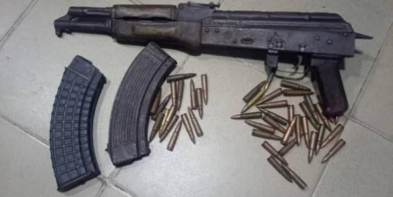 Une arme et des munitions saisies. (Gendarmerie nationale)
