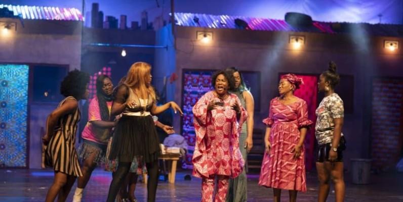 """Le spectacle """"Drôles de femmes"""" a démarré sa deuxième édition après une pause l'année dernière pour cause de Covid-19. (DR)"""