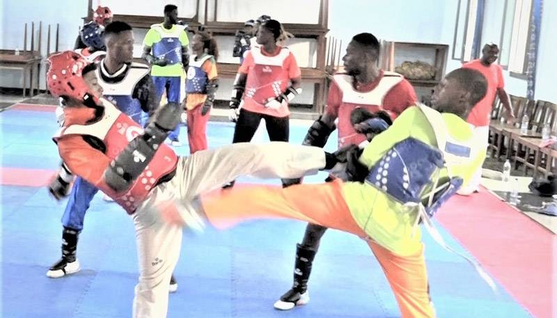 Les Taekwondo-in ivoiriens prennent party aux championnats d'Afrique du 1er au 7 juin à Dakar. (DR)