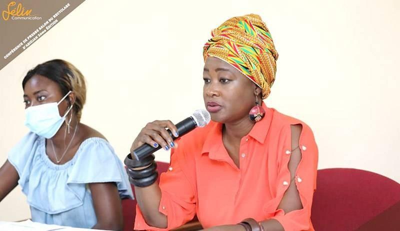Massal Touré, la commissaire générale du Salon du recyclage d'Abidjan. (Photo : DR)