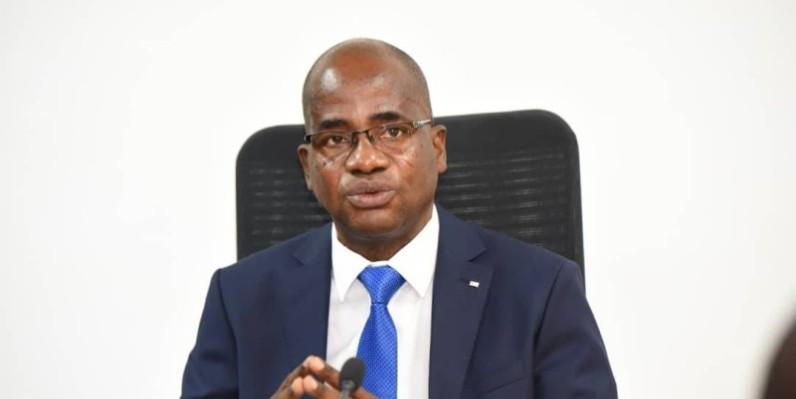 Le Dga en charge du pôle distribution et commercialisation de la Cie, Mathias Kouassi. (DR)