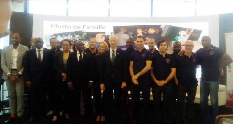Plusieurs entreprises membres de la French Tech Abidjan ont pris part à la rencontre avec le ministre Franck Riester. (DR)