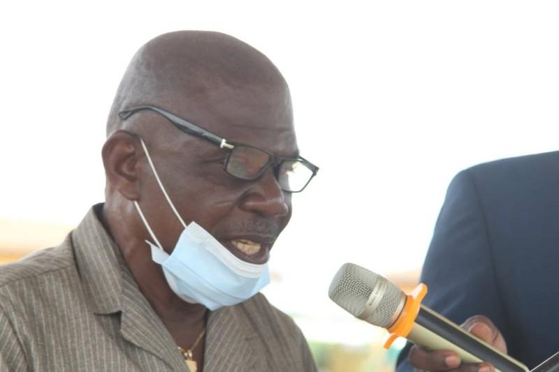 Konan Yao, président de la mutuelle d'Eticoon. (DR)
