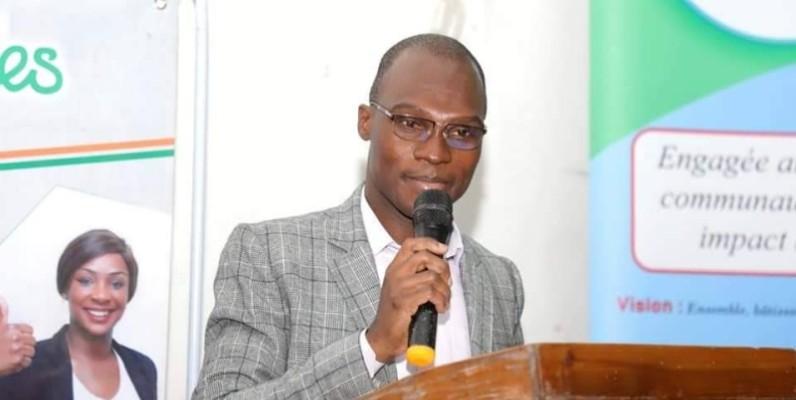 Jacob Dri Bi, Directeur du partenariat et du financement à l'Agence emploi jeunes. (DR)