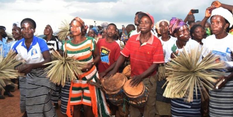 Le département de Biankouma a donné le ton de ce rendez-vous culturel popuaire, le 3 juin. (DR)