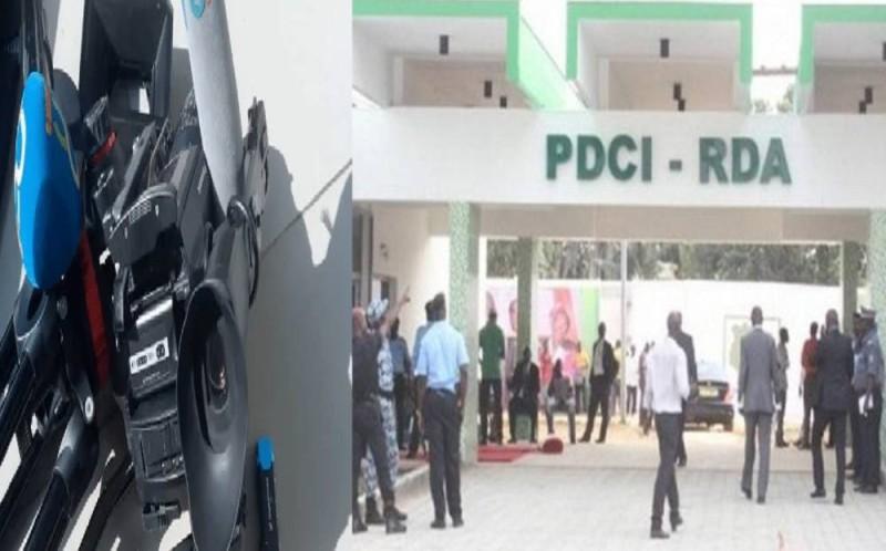 Des journalistes violentés au siège du PDCI-RDA