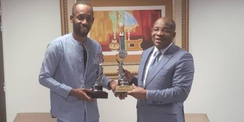 Siandou Fofana (à droite) a exprimé ses encouragements à Erico Séry. (DR)