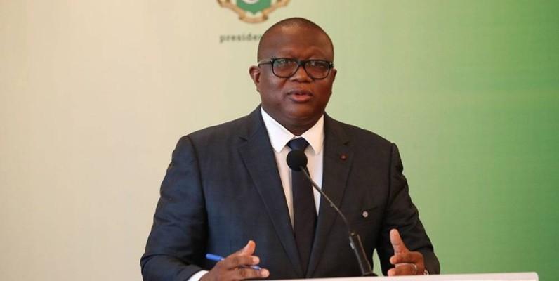 Amadou Coulibaly, ministre de la Communication, des Médias et de la Francophonie, porte-parole du gouvernement. (DR)