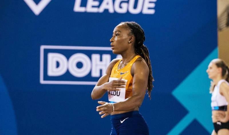 Ta Lou Marie Josée, athlète ivoirienne. (Photo : DR)