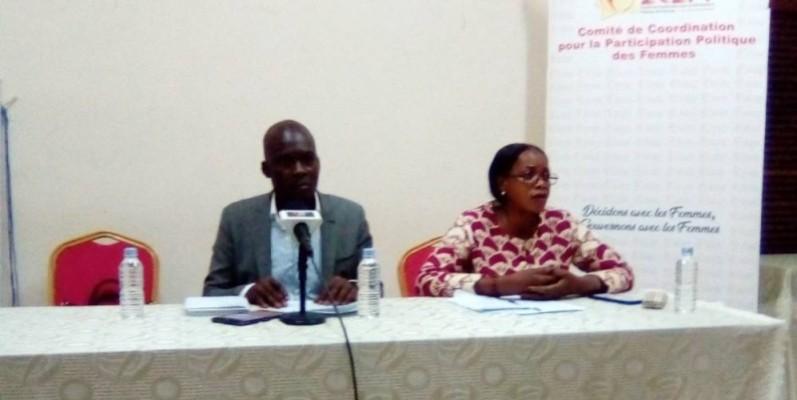 Clovis Delacroix (à gauche), vice-président du 2C2PF, chargé de la communication et de programmes. (Franck YEO)