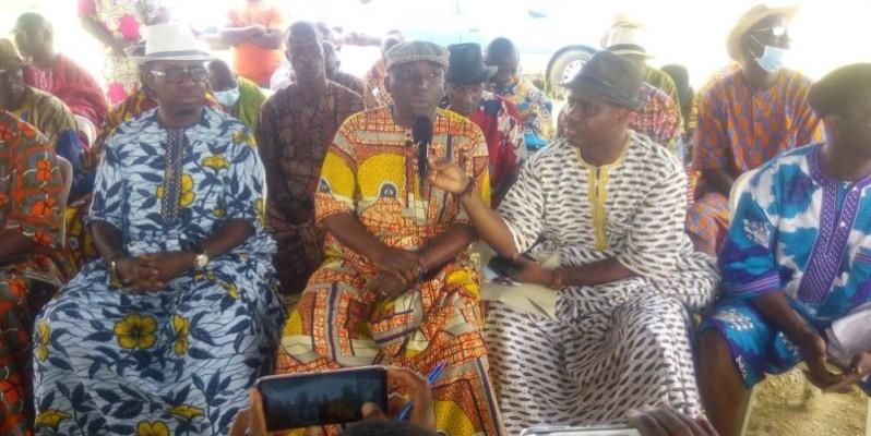 Les chefs des villages d'Abatta et d'Akouédo lancent un appel aux gouvernement. (DR)