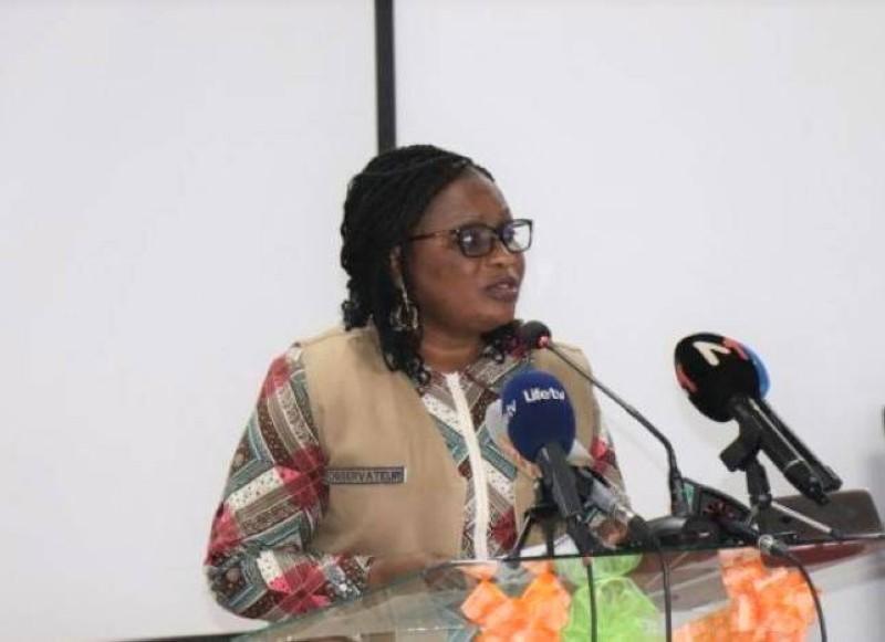 Namizata Sangaré, présidente du CNDH