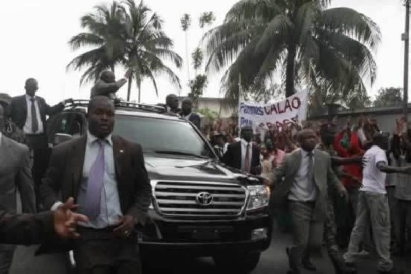 Laurent Gbagbo à Abidjan