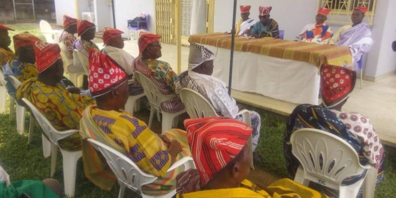 La communauté traditionnelle gouro d'Abobo veut instaurer le respect des Us et coutumes de leur région (Bavane)