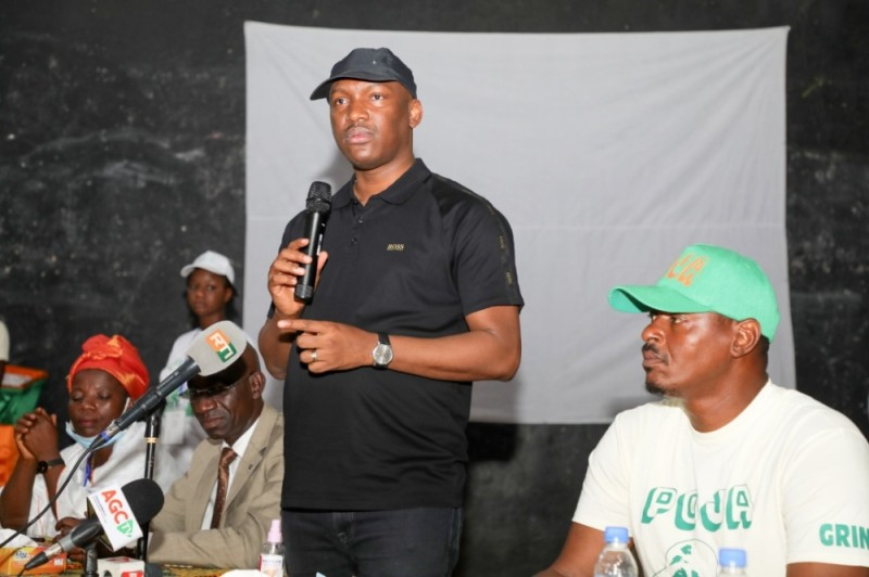 Le ministre Mamadou Touré a entretenu la jeunesse Rhdp sur les actions du Président de la République, Alassane Ouattara.